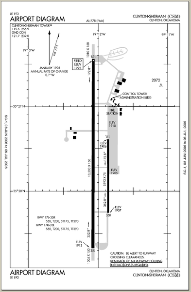 File Csm - Faa Airport Diagram Png