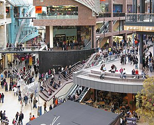 Cabot Circus - The Circus busy with shoppers