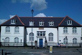 Caerleon Endowed School - Front view of school