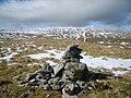 Cairn above Parpin Moss - geograph.org.uk - 1755405.jpg