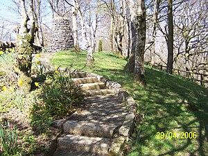 New Cumnock - Image: Cairn path