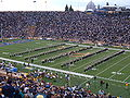 Cal Band performing at halftime at UCLA at Cal 10-16-04 4.JPG