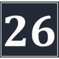 Calendar Icon 26 BW.png