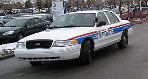 Calgary Police Service - Calgary police vehicle