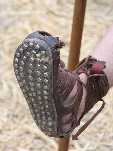 Caligae with nails - Roman sandal