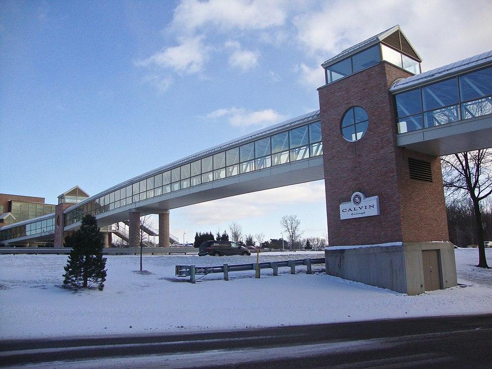 Calvin Crossing in Winter