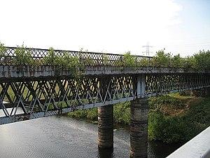 Buildings of Cambuslang - Cambuslang 'Orion' Bridge as seen from footbridge