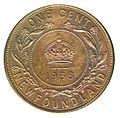 Canada Newfoundland George V 1 Cent 1936 (rev).jpg