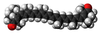 Canthaxanthin - Image: Canthaxanthin 3D spacefill