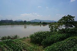 Cao'e River View from Laobadi Dam 2014-08.jpg