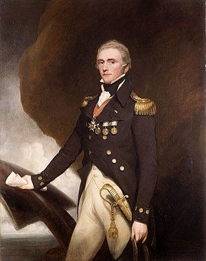 Edward Berry - Rear-Admiral of the White Sir Edward Berry, 1st Baronet
