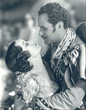 Captain Thunder (film) - Fay Wray and Victor Varconi in Captain Thunder (1930)