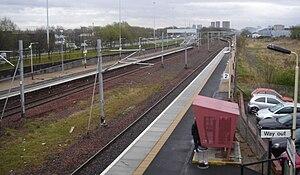 Cardonald railway station - Image: Cardonald Railway Station 01