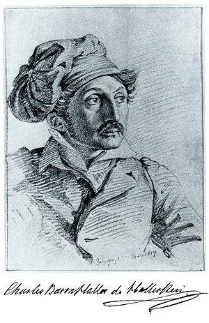 Carl Haller von Hallerstein - Hallerstein by Stackelberg in 1814