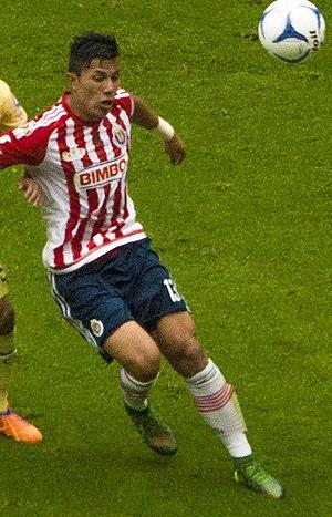 Carlos Salcedo - Salcedo with Guadalajara in 2015