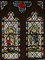 Carlton-leMoorland, St Mary's church, Stained glass window (24373835531).jpg
