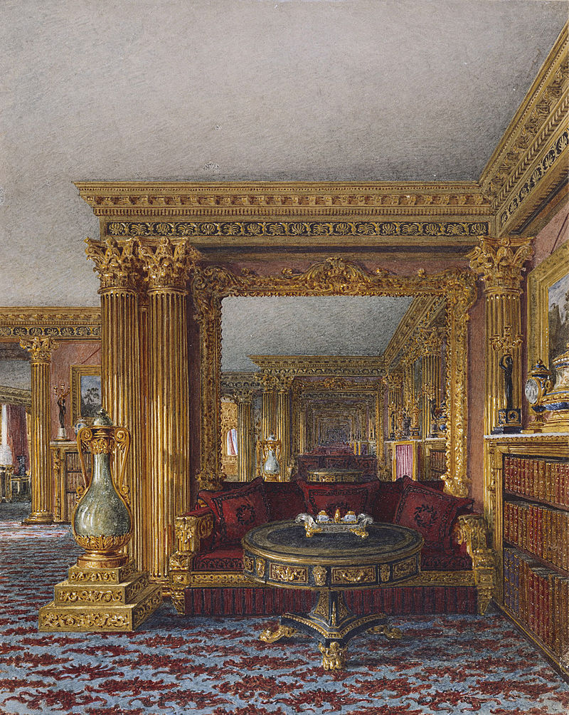 Карлтон - Хаус, Альков, Чарльз Уайлд, 1817- royal coll 922188 313734 ORI 1.jpg