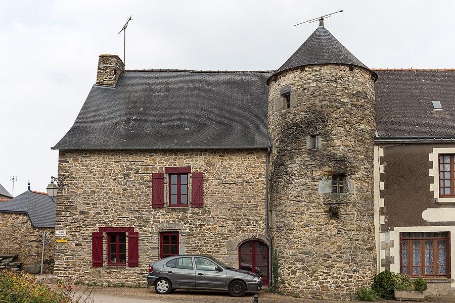 Ancienne maison du tribunal de Caro.