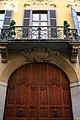 Casa Cavigioli, via Cappuccio, 9, Milano, particolare della facciata.jpg