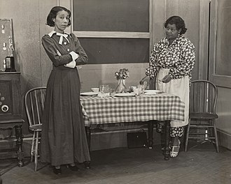 Estelle Hemsley - Estelle Hemsley (left) and Alberta Perkins in the Federal Theatre Project production of The Case of Philip Lawrence (1937)