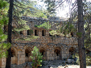 Casemate - Casemates of İbrahim Pasha were built by Ibrahim Pasha of Egypt who was rebelling against the Ottomans.