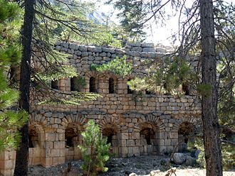 Casemate - Casemates of İbrahim Pasha were built by Ibrahim Pasha of Egypt, who was rebelling against the Ottomans, in Mersin Province, Turkey.