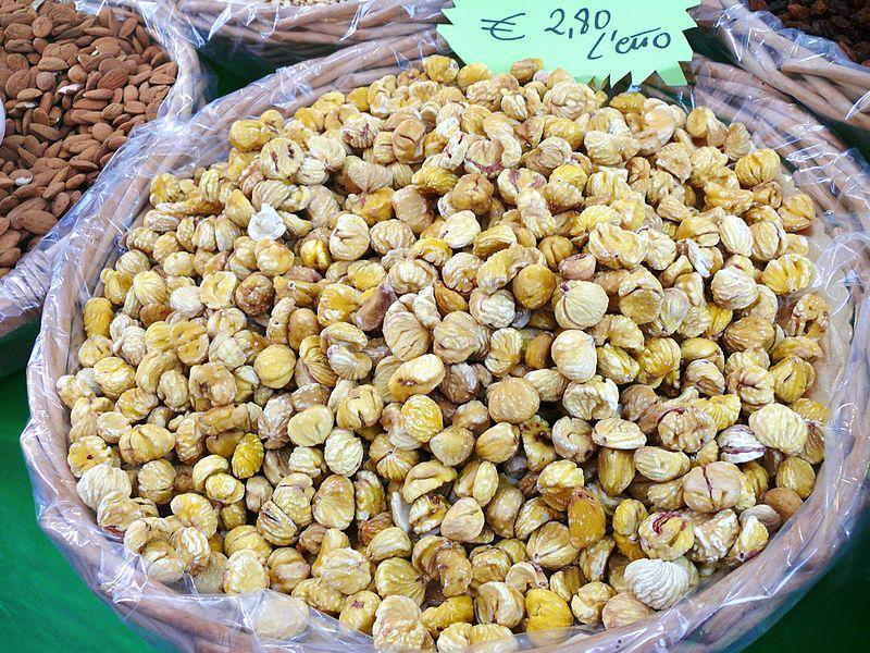 File:Castagne secche dried chestnut italy.JPG