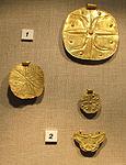 Castello di bodrum, museo, dischi dorati, arte canaanita, 02.JPG