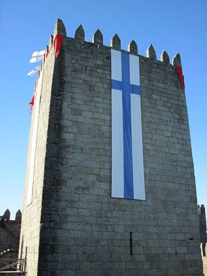 Battle of São Mamede - Celebrations of the Battle of São Mamede in the Castle of Guimarães