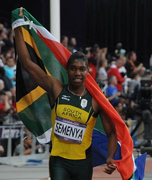 Caster Semenya - Caster Semenya at the 2012 Summer Olympics