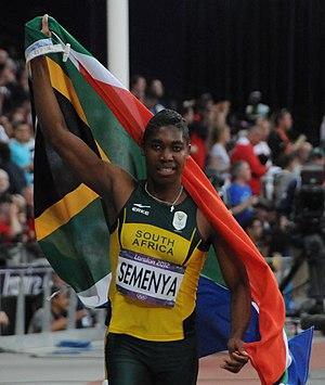 Caster Semenya - Caster Semenya at the 2012 Summer Olympics