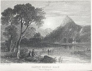 Castle Ddinas Bran: Vale of Llangollen
