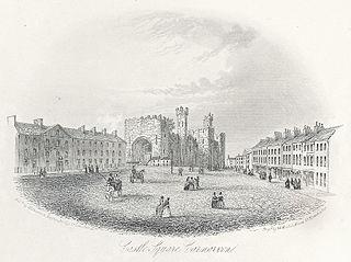 Castle Square, Carnarvon