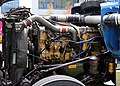 Caterpillar 3406 engine in KW W900 (left).jpg
