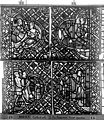 Cathédrale - Vitrail, déambulatoire, baie 52, le Bon Samaritain, cinquième panneau, en haut - Rouen - Médiathèque de l'architecture et du patrimoine - APMH00032385.jpg