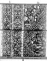 Cathédrale - Vitrail, déambulatoire au nord, saint Julien l'Hospitalier, sixième panneau, en haut - Rouen - Médiathèque de l'architecture et du patrimoine - APMH00031352.jpg
