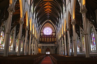Cathedral of the Holy Cross (Boston) - Image: Cathedral of the Holy Cross, Boston 3