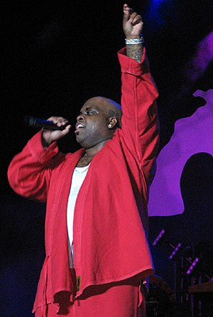 cee-lo at a Gnarls Barkley concert.