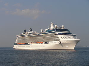 Celebrity Eclipse departing 29 July 2012 Tallinn.JPG