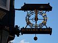Celle - Street clock.jpg