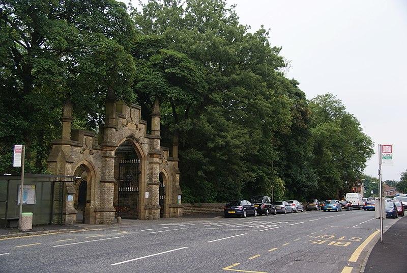 File:Cemetery Gates, Rochdale.jpg