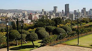 View from the Union Buildings.