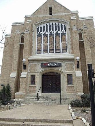 Central Congregational Church (Dallas) - Image: Central Congregational Church