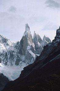 Patagonien Argentinien  Der Cerro Torre   mit viel Fantasie : )