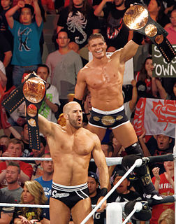 Tyson Kidd and Cesaro Professional wrestling tag team