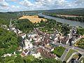 Château de La Roche-Guyon vue ville 1.JPG