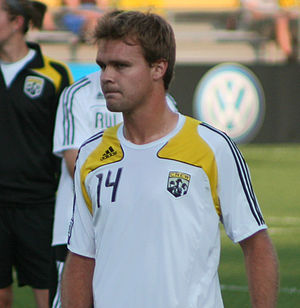 Chad Marshall - Marshall with the Columbus Crew in 2008