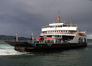 Çanakkale - Çanakkale ferry line across the Dardanelles