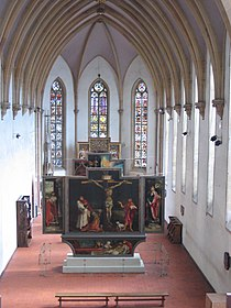 Chapel of Musée d'Unterlinden with Isenheim altarpiece.jpg