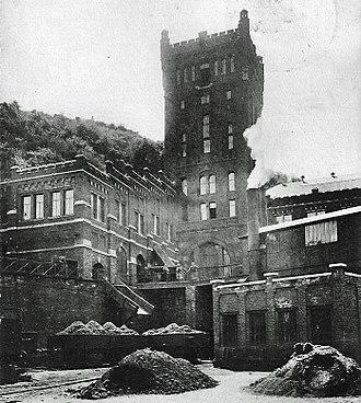 Coal mine of Hasard de Cheratte - Image: Charbonnage du Hasard de Cheratte début XXème (5)